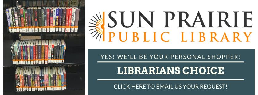 Librarians Choice - Personal Shopper