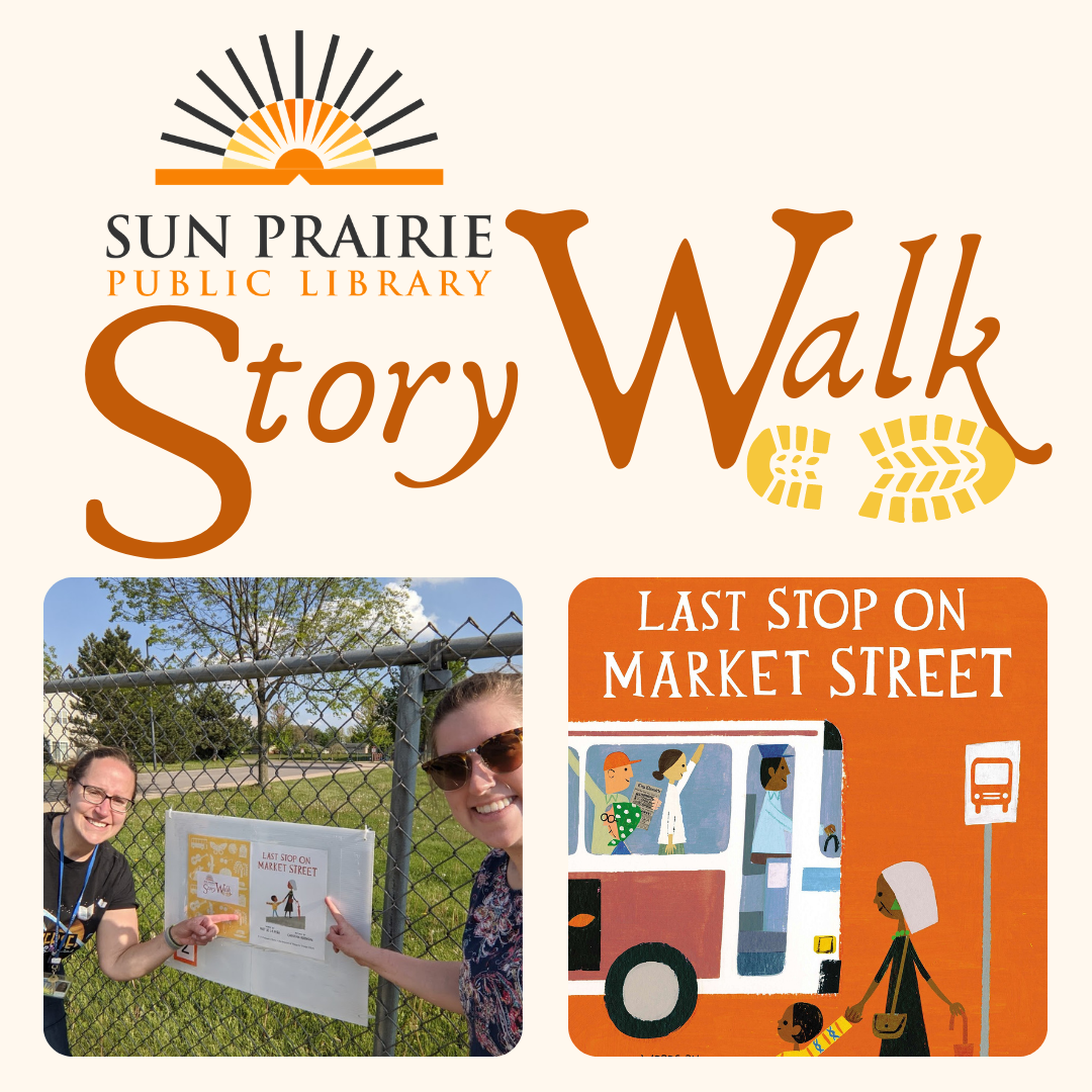 Story Walk, Last Stop on Market St.