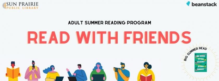 Adult Summer Reading Program banner